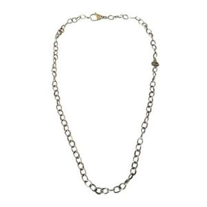 Lagos  Silver Sterling Oval Link Chain Necklaclace